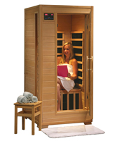 1 Person Infrared Sauna With Carbon Heaters Buena Vista