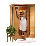 Infrared 2 Person Sauna with Ceramic Heaters - Coronado Series