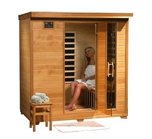 Monticello - 4 Person Infrared Sauna with Carbon Heaters