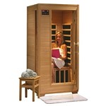 1 Person Infrared Sauna with Carbon Heaters - Buena Vista