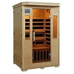 Genesis 2 Person Infrared Sauna w/ Carbon Heaters